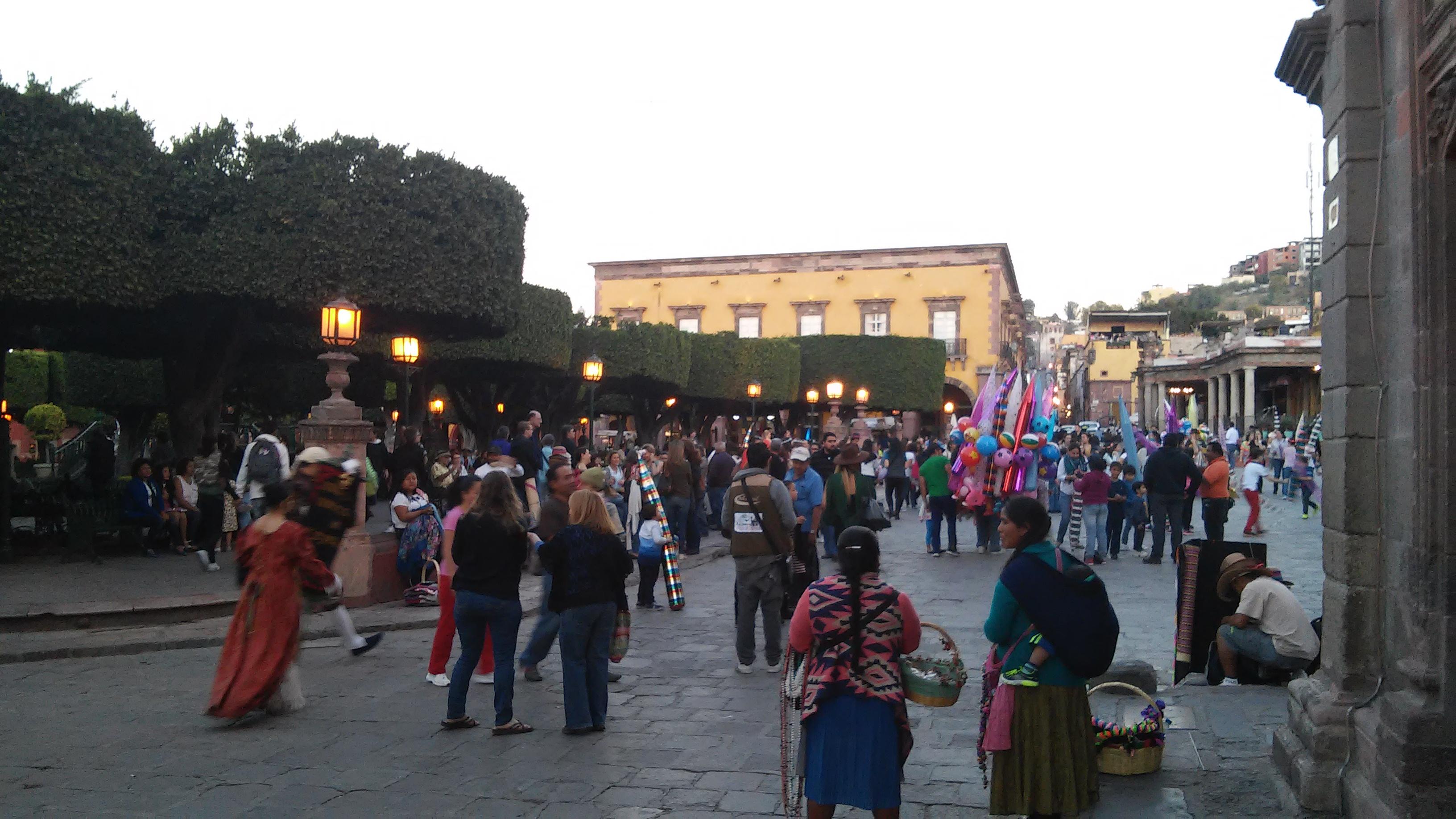 El Grito in San Miguel de Allende