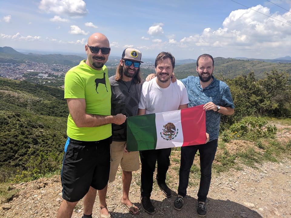 Four Amigos Explore El Grito.