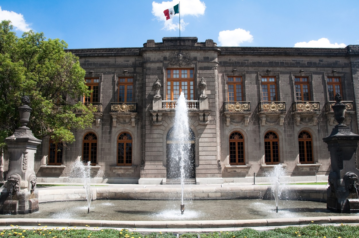 Maximilian I and Carlota Resided in Chapultepec Castle