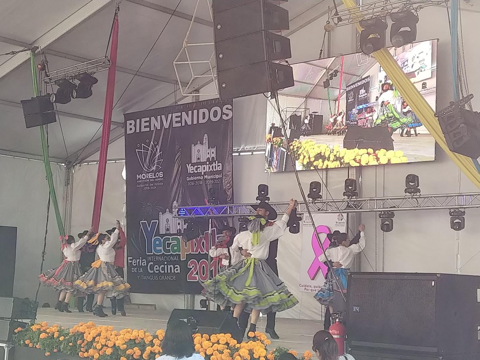 International Cecina Fair in Yecapitxla