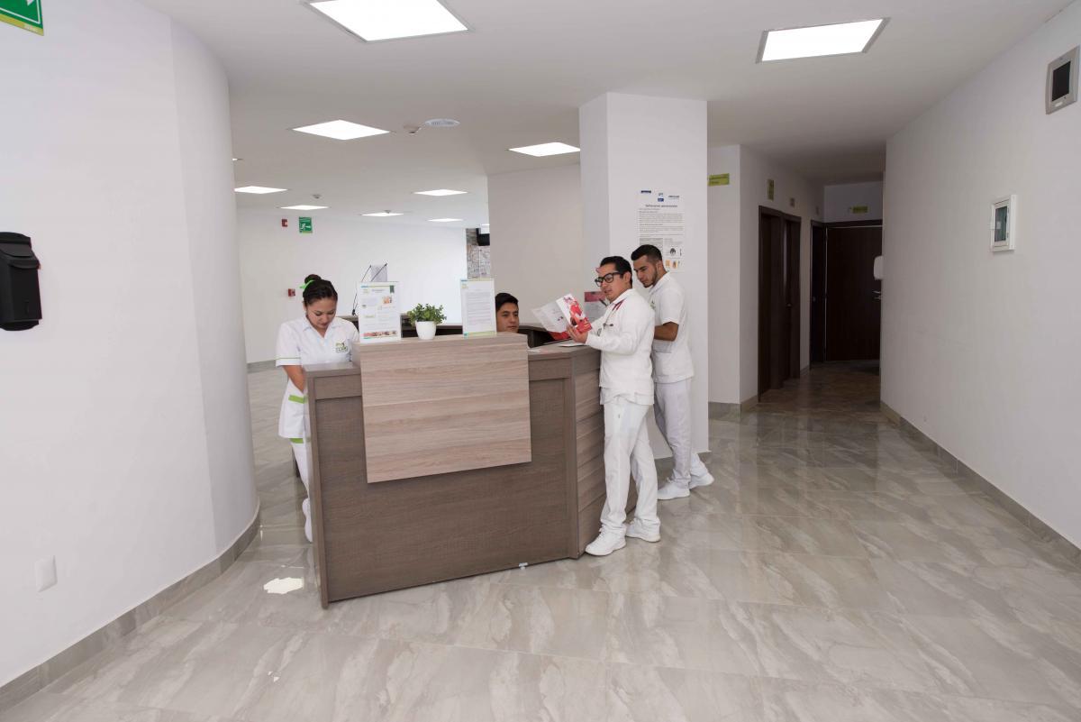 San Miguel Mac Hospital Lab Reception